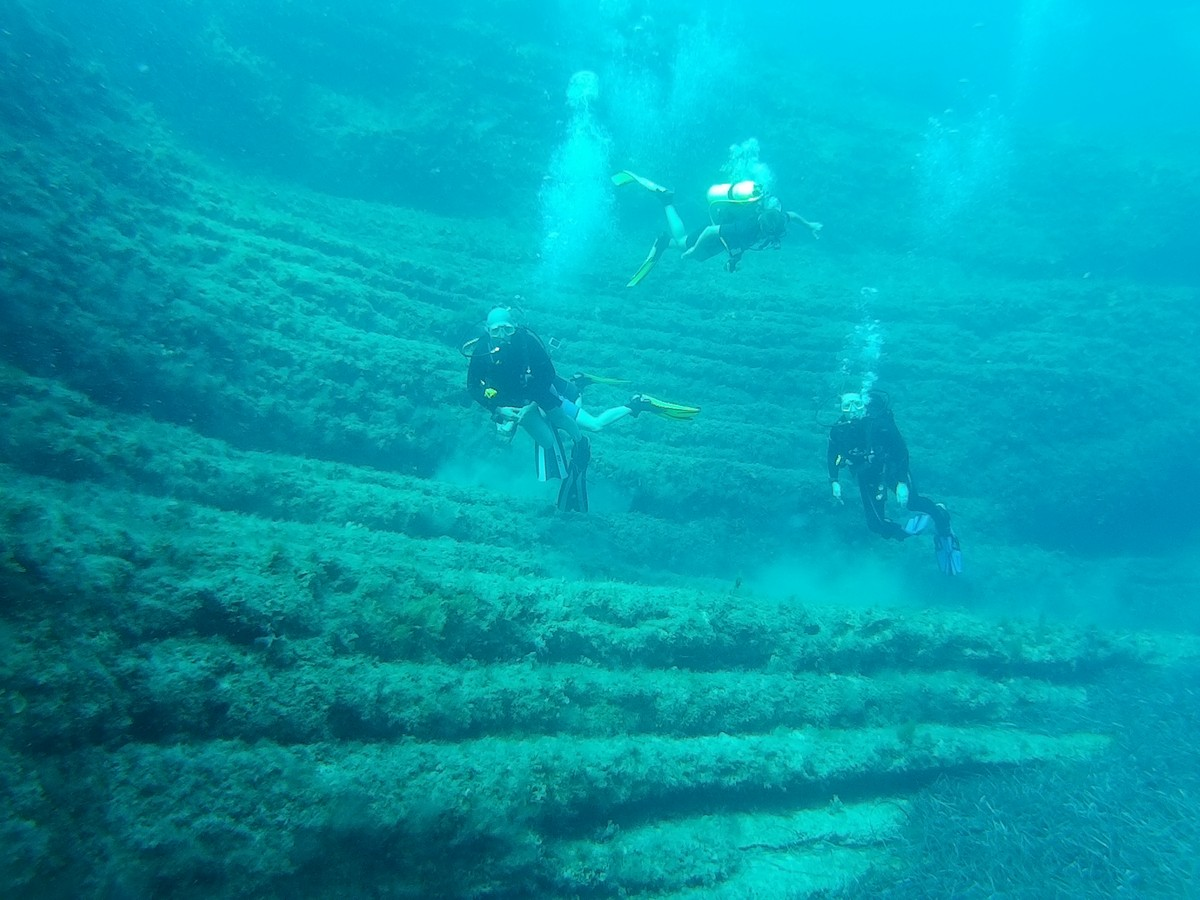 diving in paphos - Paphos Amphitheater
