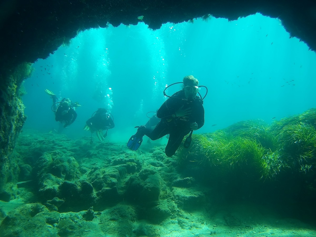 diving in paphos - St. George Harbour