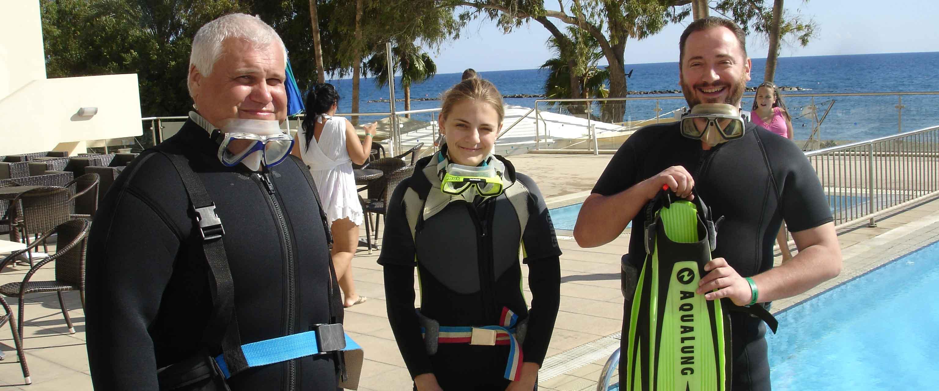 diving limassol